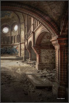 Trashed but still beautiful Abandoned church in Germany.