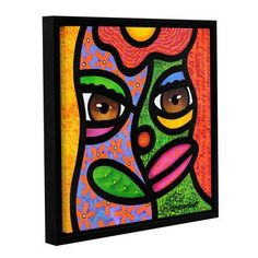 """ArtWall Ready To Blossom by Steven Scott Framed Painting Print on Wrapped Canvas Size: 14"""" H x 14"""" W"""