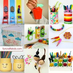 """Woohoo it is that time of the week again for us to bring you a very special ROUND UP! Yep... this week we have 20 lovely """"Back to School"""" Craft and DIY ideas - ideas, that make going back to…"""