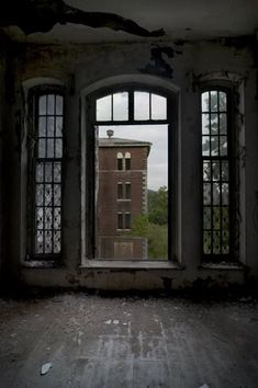 Abandoned Dixmont State Hospital, Pittsburgh, Pennsylvania. 1862-1984.