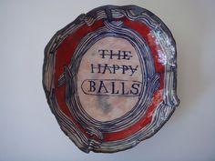''BALLS!'' PLATE BY RUAN HOFFMANN