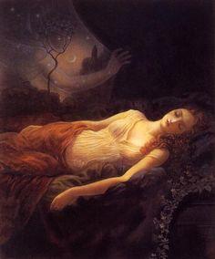 """""""Sleeping Beauty """"  by Kinuko Y. Craft"""