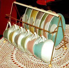 Lilien Porzellan Daisy Vintage Fashion 1950s, Retro Vintage, All Kinds Of Everything, Kitchenware, Tableware, Retro Home, Mid Century Style, Decoration, Tea Time