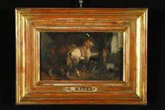 Salvatore Mazza (1819-1886),attribuito a