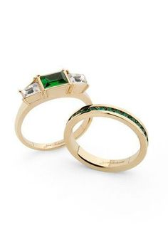 Emerald City Rings <3