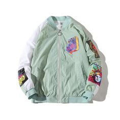 80%+ OFF Sale All of Our Bomber Jackets Collection. Sale Valid Only For Next 12 Hours!  Limited Quantity!! Army Green Bomber Jacket, Bomber Jackets, Rain Jacket, Windbreaker, Collection, Fashion, Moda, La Mode, Bomber Jacket