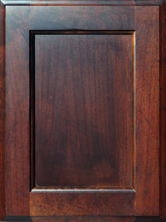 Durham Flat Panel Door  Available Material: Alder, Maple and Paint Grade Color Shown: Coffee Stain on Alder Material Available in All Outside Profiles - Shown with Roman Outside Profile Coffee Staining, Face Framing, Custom Cabinetry, Panel Doors, Durham, Cabinet Doors, Color Show, Roman, Profile