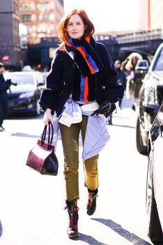 Pin for Later: Retour Sur les Meilleurs Looks Street Style de la Fashion Week de New York Jour 4 Taylor Tomasi Hill