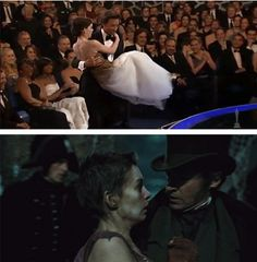HAHA!! I laughed so loud at this! I remembered his performance at the Oscars and figured it was foreshadowing! ;)