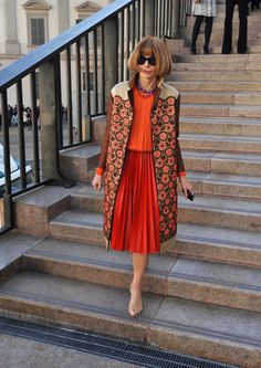 The Devil Wears Prada: Anna Wintour styled by Muiccia Prada.