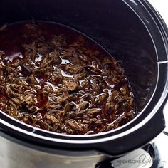 Chipotle Barbacoa Copycat Recipe in a Slow Cooker (Low Carb, Paleo)