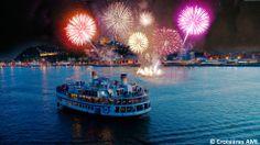 Planifiez vos sorties estivales du mois d'août! Directement lancés du fleuve, Les Grands Feux Loto-Québec rendront votre soirée unique! #GFLQ