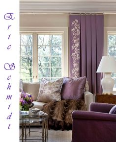 1000 images about sofa on pinterest french sofa purple sofa and sofas Living room with purple curtains