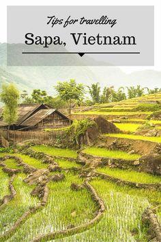 A guide to exploring Sapa Vietnam: Rice Fields, Mountains, Motorbikes, Waterfalls, Trekking & Ethnic Culture.