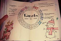 #December #Christmas # Bullet journal #Overview