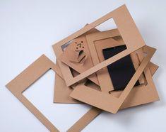 cardboard holder structure