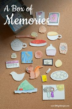 This is such a sweet and meaningful gift! Learn how to make your own Box of Memories @littlegirldesigns.com.