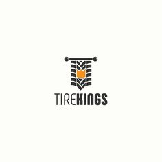 Unused logo.  The concept of the logo for the tire dealer. The idea of the logo includes a tire tread, and a crown - everything together resembles the royal pennant. Tire Kings!