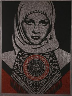 Shepard Fairey – Arab Woman