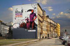 Mural - reklama z przeszłośćią   Outdoor Media