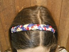Independence Day Sale! Braided headbands, 4th of July, patriotic headband, workout exercise, american flag, gifts under 20, July 4th, womens by EvalineHeadbands on Etsy