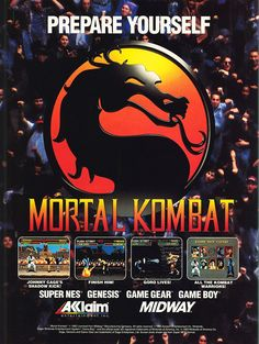 MORTAL KOMBAT Midway Multi Systems 1992 Ask me anything…