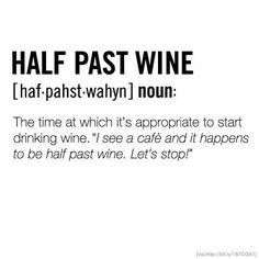 Wine o'clock! ❥