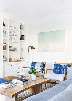 Coastal Modern Living Room – Plank and Mill