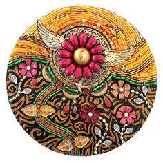 Diana Maus, Suddenly in Sunlight, Beaded mosaic