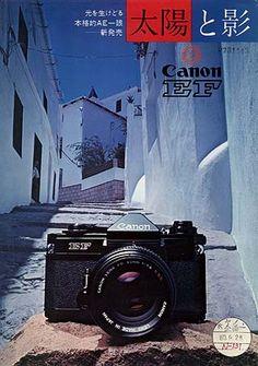 カタログ Old Cameras, Vintage Cameras, Vintage Ads, Canon Cameras, Photography Camera, Vintage Photography, Amazing Photography, Foto Canon, Classic Camera