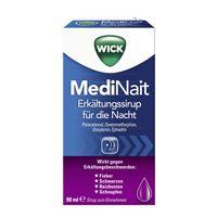 Genießen Sie Ihren Tag! WICK MediNait Erkältungssirup behandelt Ihre Erkältungsbeschwerden während Sie schlafen, damit Sie sich am Morgen wie neu fühlen.