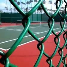 GI Chain Link: This has a silver finish and its life depends on the level of zinc coating. The zinc coating can range from 20gsm to 200gsm with greater the coating, the higher the life of the mesh from rust.  for more,   http://evershinedynacorp.com/chain_link_fencing.html
