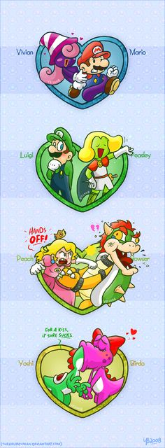 Fan-based relationships, pt. 2 by =TheBourgyman on deviantART