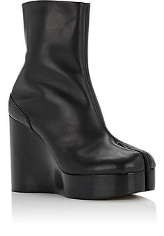 Maison Margiela Split-Toe Platform Wedge Boots - Boots - 504672507