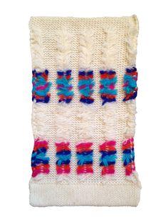 machine knit swatch