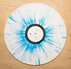 Pond – The Weather - White & Blue Splatter #Vinyl - 12 Inch