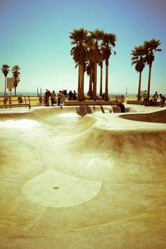 venice beach - California. I will skate you one day.
