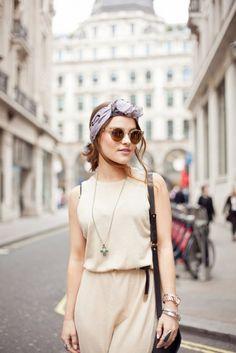 La bandana es tendencia #moda #streetstyle
