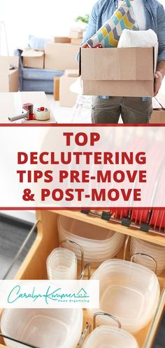Top Decluttering Tips Pre-Move & Post-Move - Caralyn Kempner Bathroom Closet Organization, Home Organization Hacks, Nursery Organization, Organizing, Budget Home Decorating, Diy Home Decor On A Budget, Moving House, Minimalist Home, Home Decor Styles