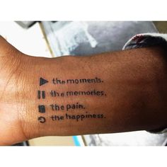 Possible wrist tattoo (Music Inspired Sleeve)
