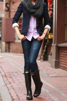 Ways To Wear It: Hunter Rain Boots - Mindy Mae's Market