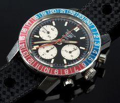 Heuer Autavia GMT 1968 Ref. 2446 GMT, Cal. Valjoux 724