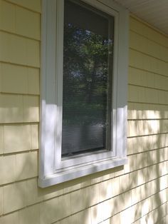White PVC Window Trim
