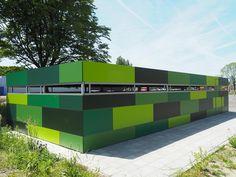 Groene fietsenstalling voor gemeente Hengelo | Falco BV