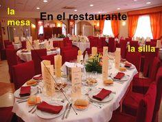 En el Restaurante by mavisanchez via slideshare