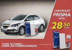 Corra para não perder!!!    Jogamos o #Preço lá embaixo para você deixar seu #Prisma com aquele #ar #puro e #perfumado de #sempre.    #Clique na #Imagem.      #Chevrolet Peças e Acessórios para seu veículo-> MMParts.com.br