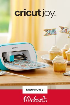 The Cricut Joy is perfect for the beginner crafter or the maker on the go. The small company design is perfect for last-minute inspiration. Diy Crafts For Gifts, Cute Crafts, Crafts For Kids, Paper Crafts, Craft Supplies Online, Arts And Crafts Supplies, Art Supplies, Last Minute, Mini Things