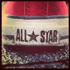 #originalALLSTAR# Unisex Fashion, Girl Fashion, Mens Fashion, Red Chucks, Pumped Up Kicks, Fresh Kicks, Converse Chuck Taylor All Star, Running Shoes For Men, How To Look Pretty