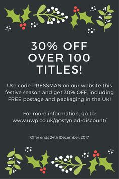 #christmas #discount #discountcodes #festive #books #reading #publishing