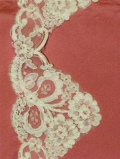 PB54165 Ivory Alencon Lace Trim - Bridal Fabric by the Yard